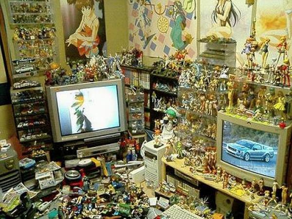Les chambres d'otaku !