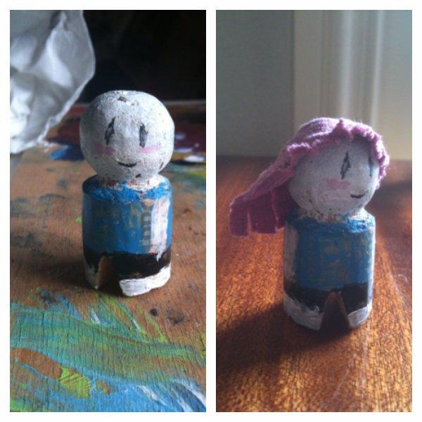 Tuto : une petite figurine tout en recyclant !