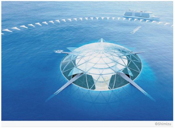 Le Japon réalise le rêve de la ville sous-marine