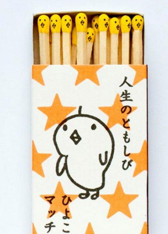 Des allumettes japonaises juste... Totalement kawaii.