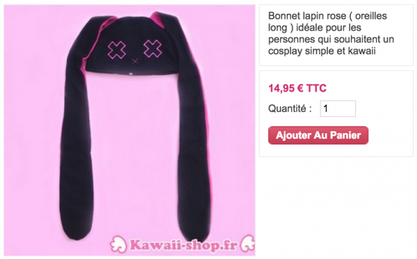 Bonnets kawaii !