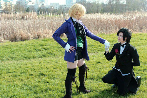 Cosplay Black Butler