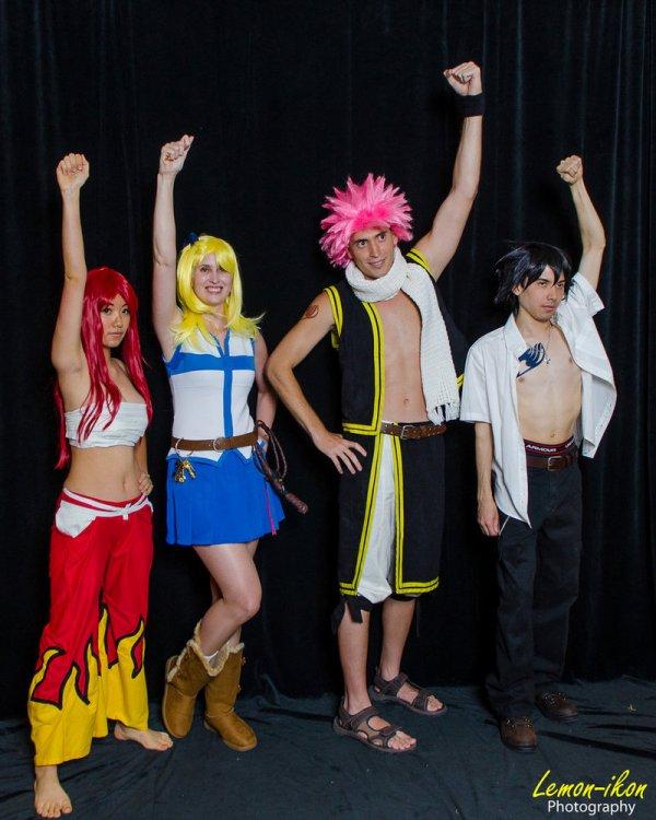 Cosplay Fairy Tail // Avec deux fails !