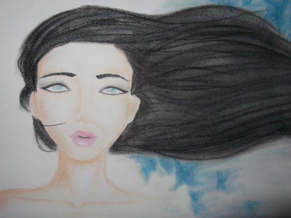 cheveux au vent !