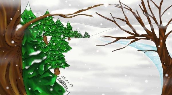 Loin du froid de décembre