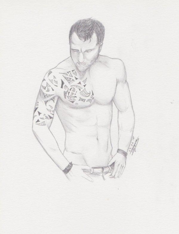 Homme Tatouage -avec modèle-