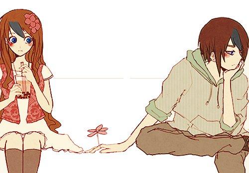 Anzu et Seigi Nanamine