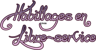 ~ Habillages libre-service ~