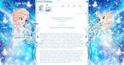 ~ [Libre-Service] - Habillage n°5 : Frozen ~