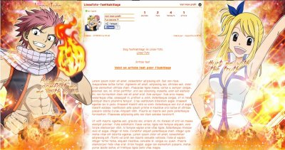 ~ [Libre-Service] - Habillage n°11 : Fairy Tail ~