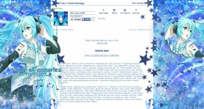 ~ [Libre-Service] - Habillage n°24 : Hatsune Miku ~