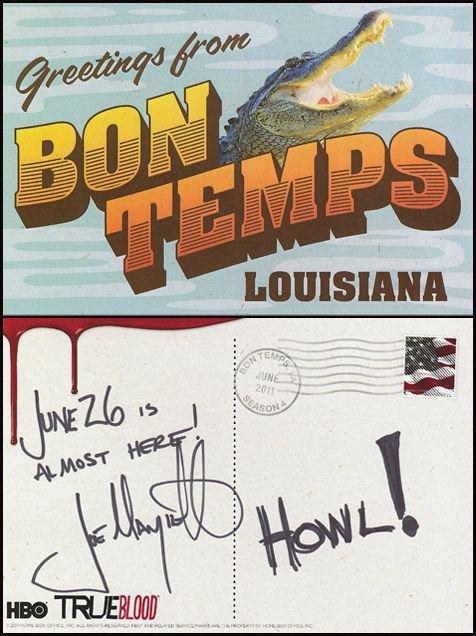 carte postal de Joe Manganiello !