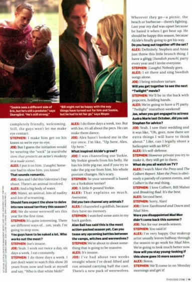TV guide - Sexy Beasts