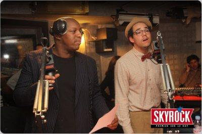 Oxmo Puccino et Ben l'Ocle Soul dans planète rap