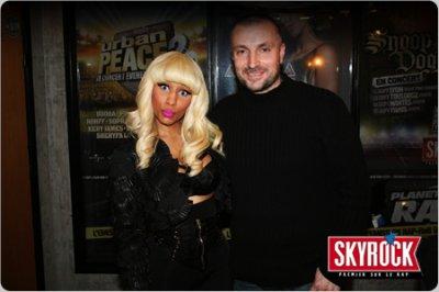 Nicki Minaj et Fred dans planète rap