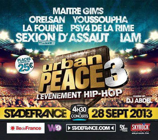 Toute cette semaine, Planète Rap se met en mode Urban Peace 3