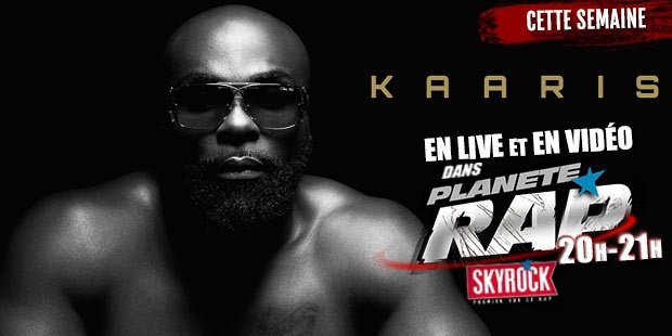 Cette semaine, Fred reçoit Kaaris dans @Planete_Rap sur @SkyrockFm