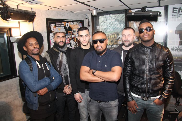PHOTOS : Alonzo et ses freestylers
