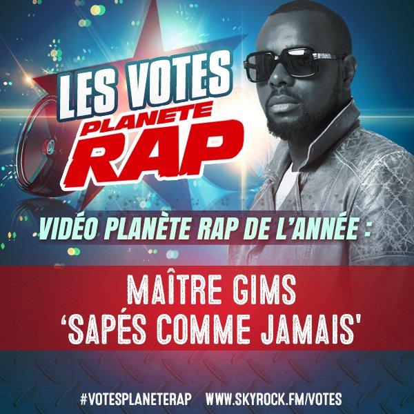 Vidéo Planète Rap de l'année
