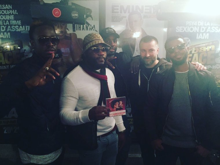 The Shin Sekaï, Fred, Gradur & Lefa s'ambiancent