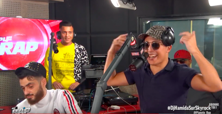 DJ Hamida aux platines !