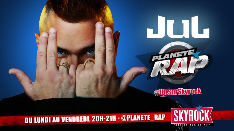 Jul dans Planète Rap à Marseille !