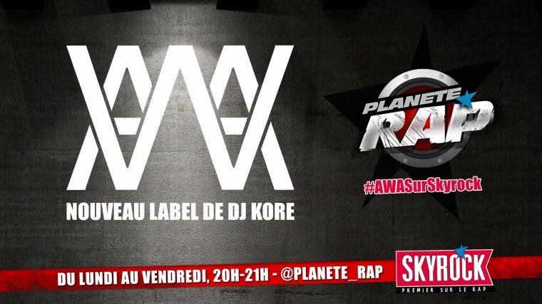 Fred reçoit AWA, le label de DJ KORE !