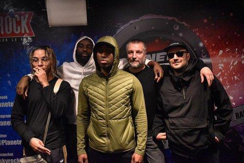 Zola, Kekra, et Diddi Trix dans Planète Rap !