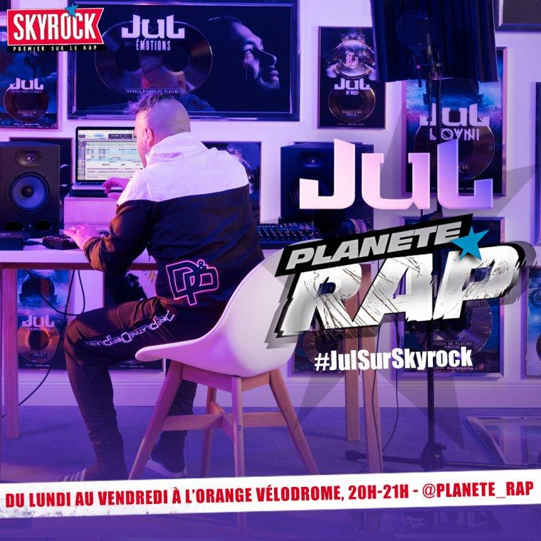 Planète Rap exceptionnel de JuL à l'Orange Vélodrome !