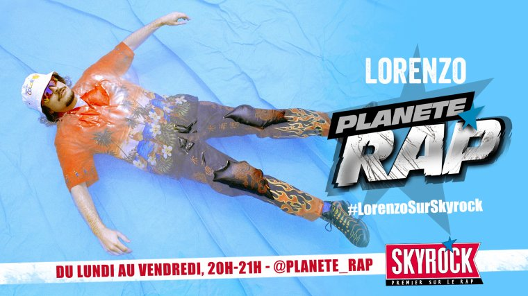 Lorenzo dans Planète Rap !