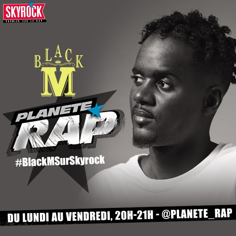 Fred reçoit Black M
