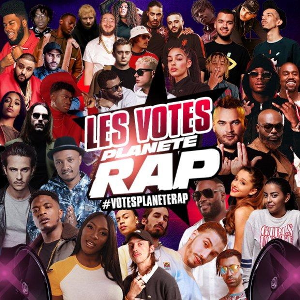 LES VOTES PLANÈTE RAP 2019