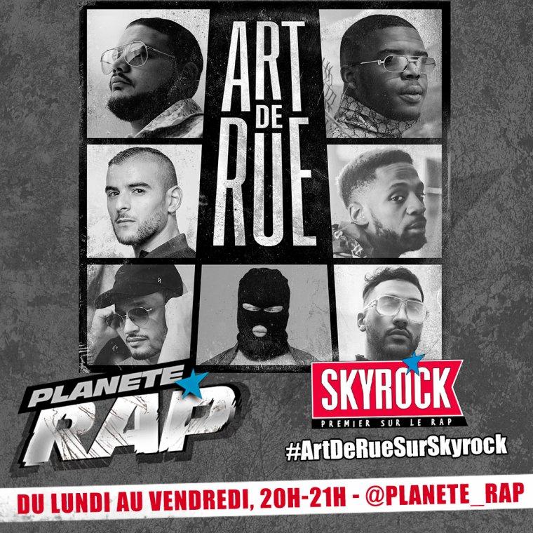 """""""Art de rue"""" dans Planète Rap !"""