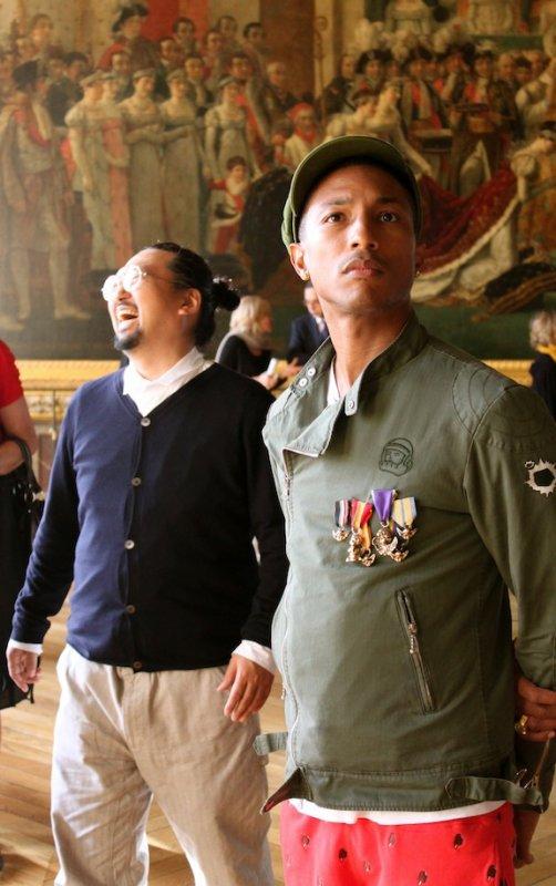 Takashi Murakami Exposition au Chateau de Versailles