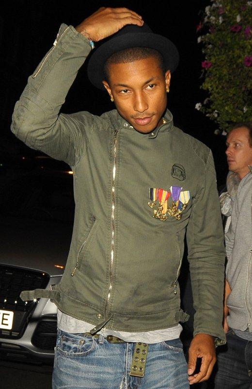 Pharrell - Londres, UK - 14-15 septembre 2010