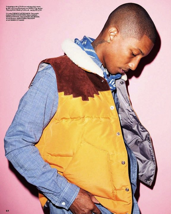 Pharrell Williams - RollaCoaster Magazine Numéro de Septembre 2010