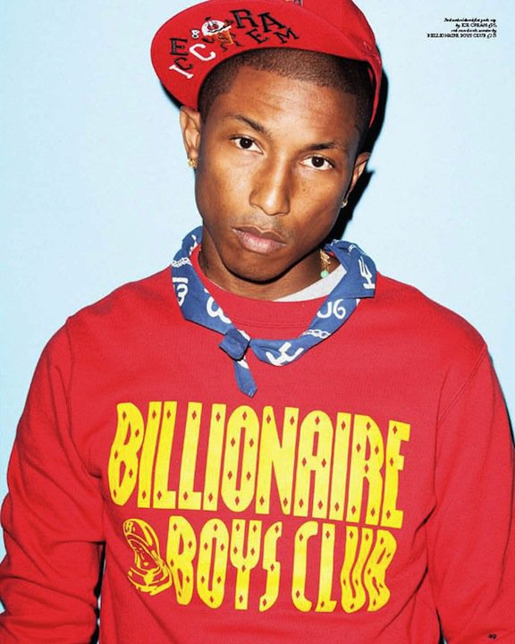 Pharrell Williams - RollaCoaster Magazine Numéro de Septembre 2010