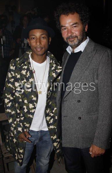 Pharrell - Moncler Gamme Rouge Défilé - Paris, France - 5 octobre 2010