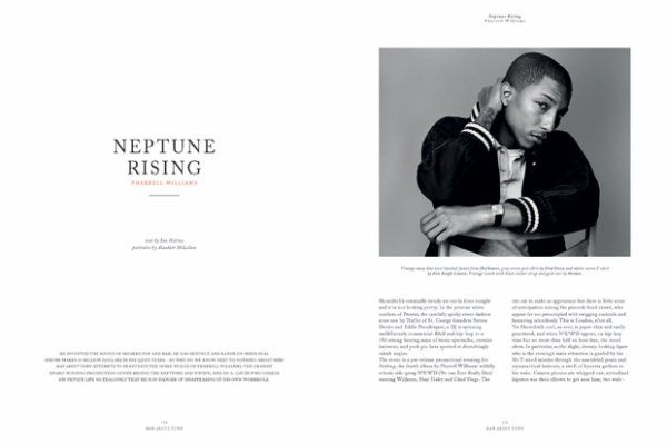 Pharrell - Man About Town Magazine - Automne/hiver 2010