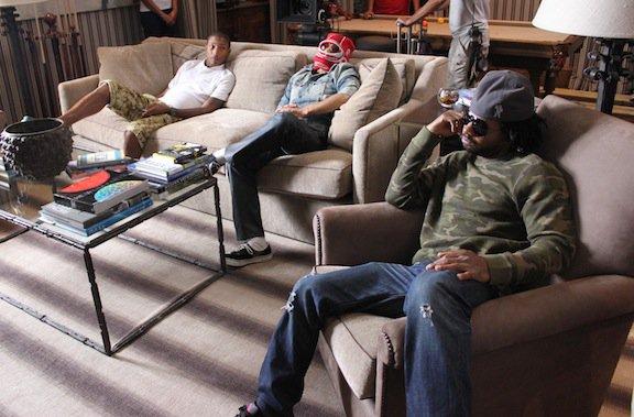 N.E.R.D - Tournage du clip  Hypnotize U - 7 (?) octobre 2010
