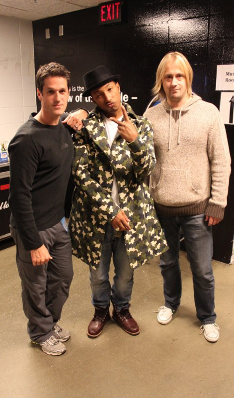 N.E.R.D - Target Center - Minneapolis, MN - 17 octobre 2010