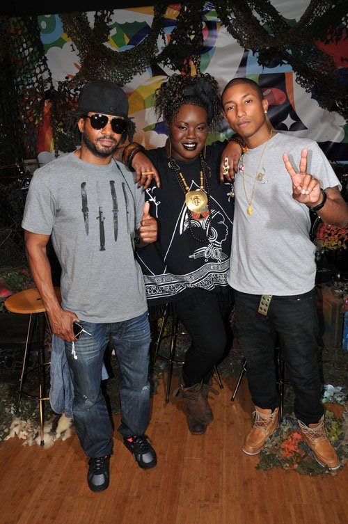 N.E.R.D - Sprite's Fresh Sound Studio Series - Los Angeles, CA - 1er novembre 2010