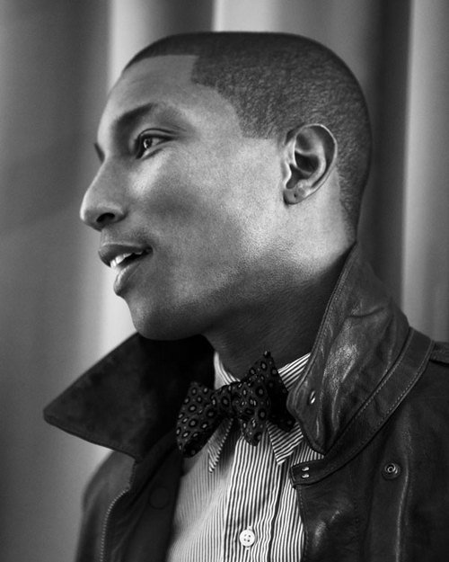 "Pharrell Williams - PaperMag (Novembre 2010) - ""Renaissance Men"" - Photos par Jake Chessum"