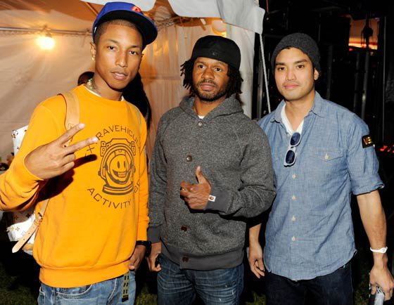N.E.R.D - Paper Magazine Friends With You x N*E*R*D Party Art Basel - Miami, FL - 2 décembre 2010