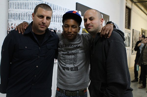Pharrell - FIAT and The FADER's Exhibitalia - Miami, FL - 3 décembre 2010