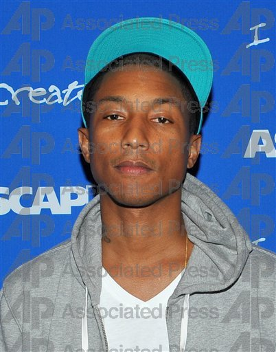 "Pharrell - ASCAP ""I Created Music"" Expo - Hollywood, CA - 30 avril 2011"