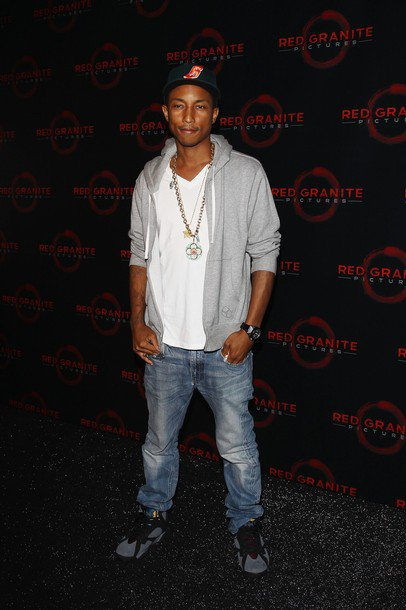 Pharrell - Red Granite Party - Festival de Cannes 2011 - Cannes, France - 14 mai 2011