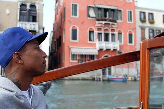 Pharrell - Venise, Italie - Avril 2011