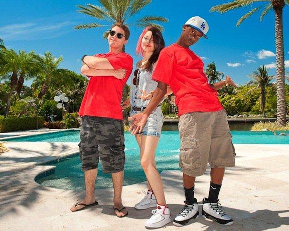 Pharrell & ses nouveaux protégés chez Star Trak ... - Miami, FL - mai 2011