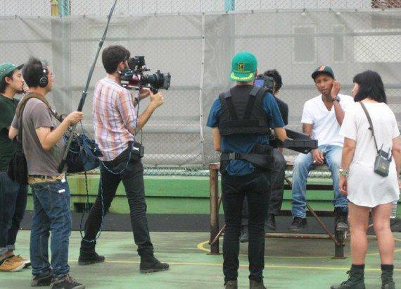 1eres images du court-métrage sur Pharrell à Tokyo